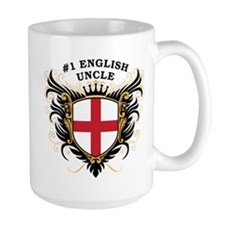 Number One English Uncle Mug
