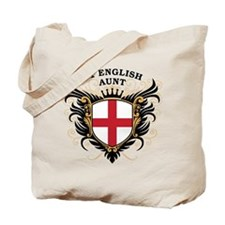 Number One English Aunt Tote Bag