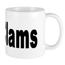 I Love Clams for Clam Lovers Mug