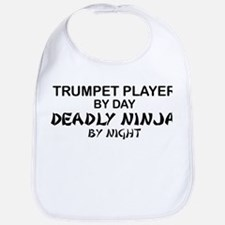 Trumpet Player Deadly Ninja Bib