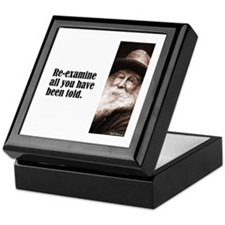 "Whitman ""Re-examine"" Keepsake Box"