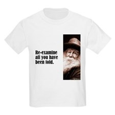 "Whitman ""Re-examine"" T-Shirt"