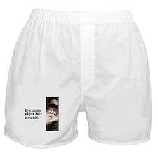 """Whitman """"Re-examine"""" Boxer Shorts"""