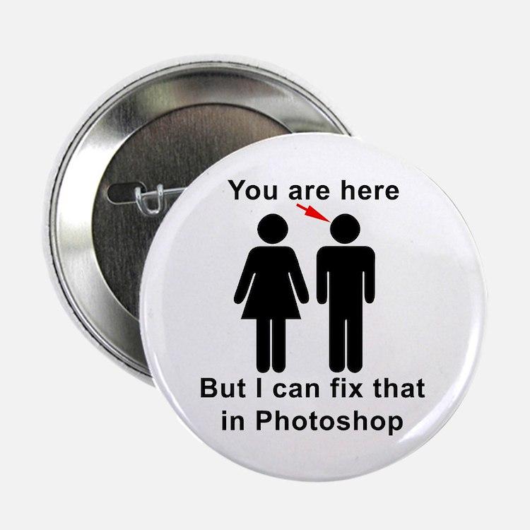 "Cute Photoshop 2.25"" Button"
