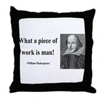 Shakespeare 21 Throw Pillow