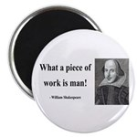"Shakespeare 21 2.25"" Magnet (100 pack)"
