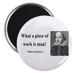 """Shakespeare 21 2.25"""" Magnet (100 pack)"""