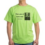 Shakespeare 21 Green T-Shirt