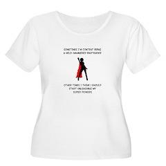 Superheroine Bartender T-Shirt