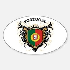 Portugal Sticker (Oval)