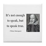 Shakespeare 22 Tile Coaster