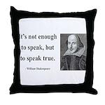 Shakespeare 22 Throw Pillow