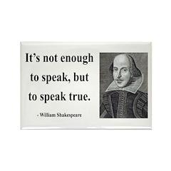 Shakespeare 22 Rectangle Magnet