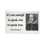 Shakespeare 22 Rectangle Magnet (100 pack)