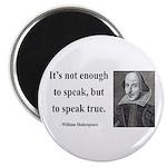 """Shakespeare 22 2.25"""" Magnet (100 pack)"""