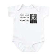 Shakespeare 22 Infant Bodysuit