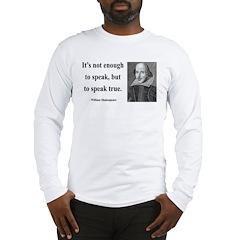 Shakespeare 22 Long Sleeve T-Shirt