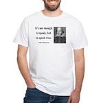 Shakespeare 22 White T-Shirt