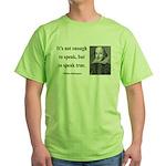 Shakespeare 22 Green T-Shirt