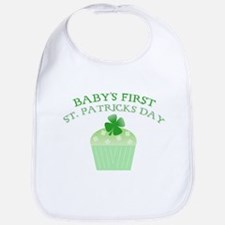 Baby's First St. Patrick's Da Bib