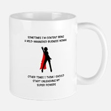 """Superheroine Business Woman"" Mug"