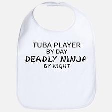 Tuba Player Deadly Ninja Bib
