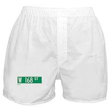 168th Street in NY Boxer Shorts