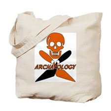 Skull & Crossed Trowels Tote Bag
