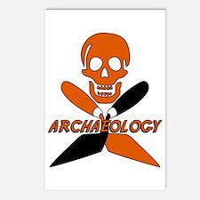 Skull & Crossed Trowels Postcards (Package of 8)
