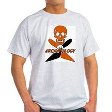 Skull & Crossed Trowels T-Shirt