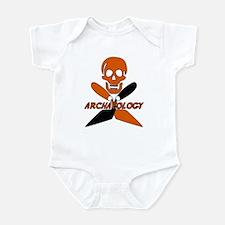 Skull & Crossed Trowels Infant Bodysuit