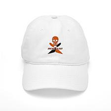 Skull & Crossed Trowels Baseball Cap