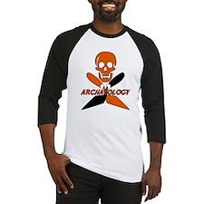 Skull & Crossed Trowels Baseball Jersey