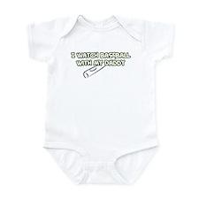 Oakland Baseball Daddy Infant Bodysuit