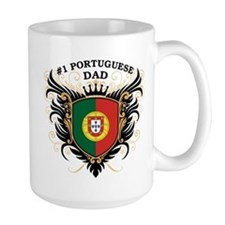 Number One Portuguese Dad Mug