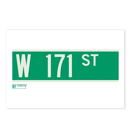 171st Street in NY Postcards (Package of 8)