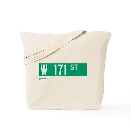 171st Street in NY Tote Bag