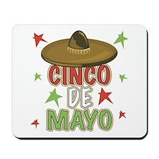 Cinco de Mayo Sombrero Mousepad