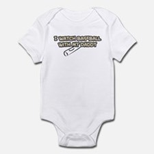 Milwaukee Baseball Daddy Infant Bodysuit