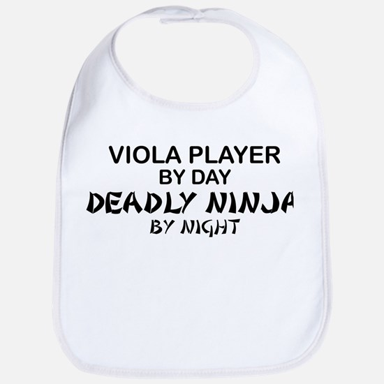 Viola Deadly Ninja by Night Bib