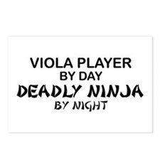 Viola Deadly Ninja by Night Postcards (Package of