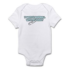 Florida Baseball Daddy Infant Bodysuit