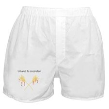 Wheat Is Murder Boxer Shorts