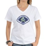 San Juan FBI SWAT Women's V-Neck T-Shirt