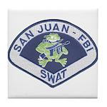 San Juan FBI SWAT Tile Coaster