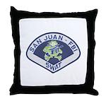 San Juan FBI SWAT Throw Pillow