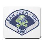 San Juan FBI SWAT Mousepad