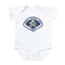 San Juan FBI SWAT Infant Bodysuit