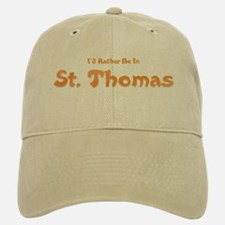 I'd Rather Be...St. Thomas Baseball Baseball Cap