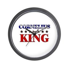 CORNELIUS for king Wall Clock